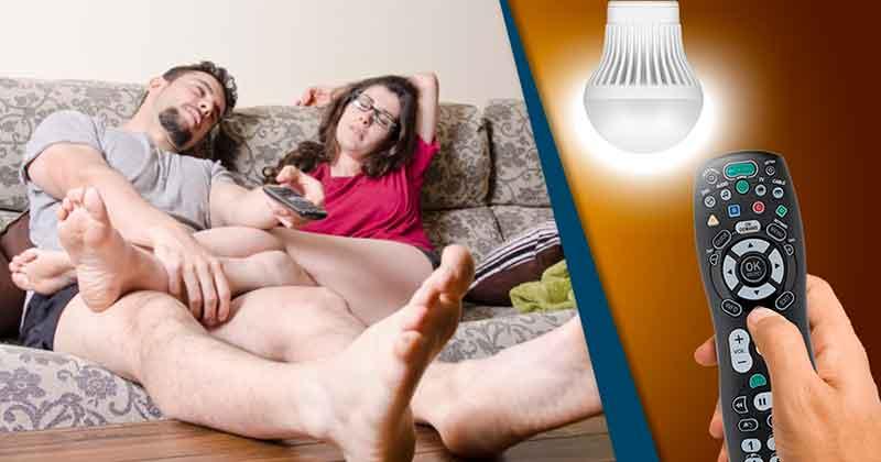 interruptor lâmpada controle remoto