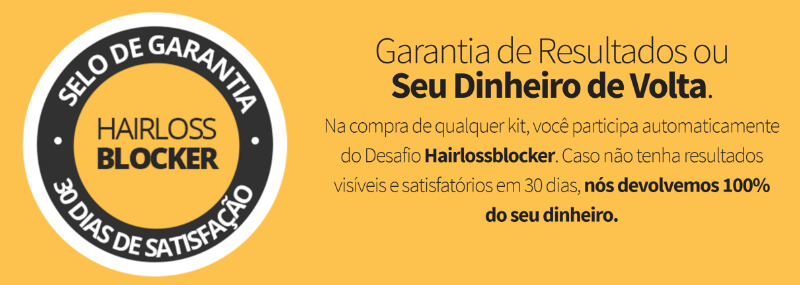 garantia hairloss blocker