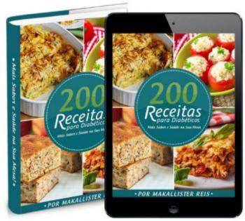 200 Receitas para diabéticos