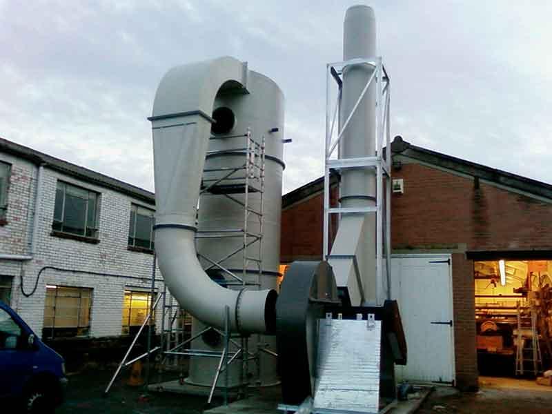 lavador gases industrial polipropileno